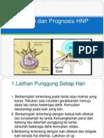 Edukasi Dan Prognosis HNP