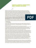 Bioremediasi Sebagai Alternatif Penanganan Pencemaran Akibat Tambang