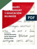 Portugués del Uruguay y Educación Fronteriza. Luis Behares.