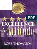 Excellence in Attitude