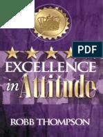 Excellence in Attitude