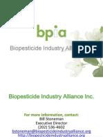Biopesticide Industry Alliance