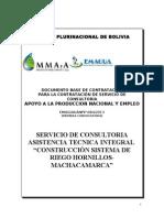 DBC ATI Sistema de Riego Hornillos Machacamarca