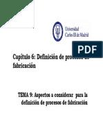 7 Definicion de Los Procesos de Fabricacion 2013 09 18