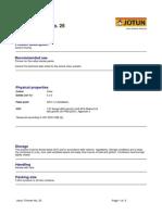TDS - Jotun Thinner No. 25 - English (Uk) - Issued.26.11.2010