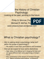 Psycholoy of Christian in One Perspecrive