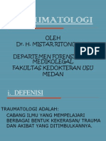 Traumatologi