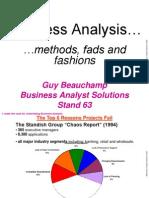 Business Analysis Framework Presentation