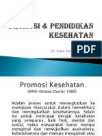 Health Promotion (Ind)