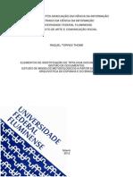 Elementos de Identificação de Tipologia Documental para a Gestão de Documentos - Raquel Torres Thomé