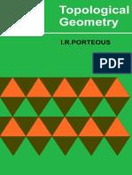 Ian R. PorteTopological Geometryous-Topological Geometry-Van Nostrand Reinhold Company (1969)