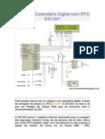 Relógio e Calendário Digital com RTC DS1307