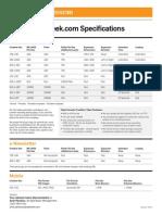 Digital Specifications 2013 b
