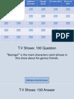 Jeopardy Game ARF