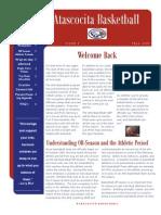 Fall 09 Newsletter 2