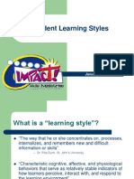 Learning Styles 20139