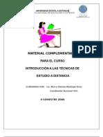Material Complementario II Semestre- 2009