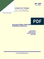 Estadística Chilena (Braun et al, 2000)