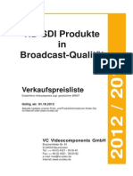 HD SDI Catalog