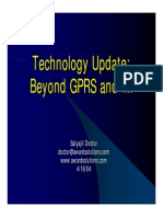 Beyond GPRS & 1x