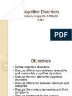 PowerPoint Cognitive Disorders