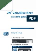VoiceBlue Nnext SMS