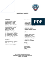 Rosters All Stars