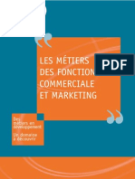 Les métiers des fonctions commerciale et marketing - APEC