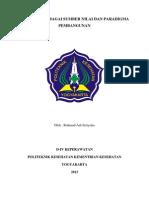 Makalah Pancasila Sebagai Sumber Nilai Dan Paradigma Pembangunan.