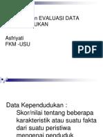 Sumber & Evaluasi Data
