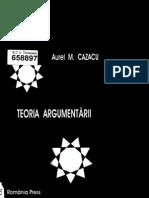 Aurel Cazacu Teoria Argumentarii