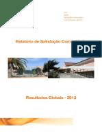 Relatório Satisfação comunidade CAPP