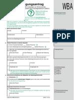 Weiterbewilligungsantrag Arbeitslosengeld II