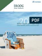 Spiekeroog Gastgeberverzeichnis 2014
