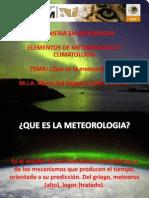 Introduccion a La Metereologia
