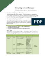 annual agreement 1