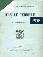 K.waliszenwski - Ivan Le Terrible
