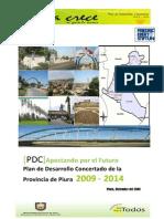 Plan de Desarrollo Concertado de La Provincia de Piura 2009-2014