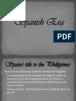 Spanish Era-Japanese Regime