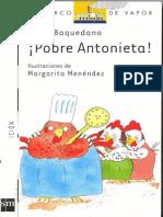 Pobre Antonieta Lucia Baquedano