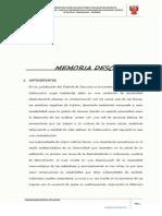 3. Memoria Descriptiva