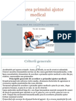 Acordarea Primului Ajutor Medical