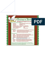 Christmas in Berthoud Schedule 2013