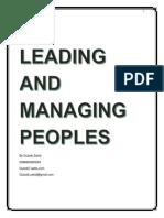 Leading & Managing People