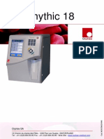 Orphee Mythic 18 Hematology Analyzer - User Manual
