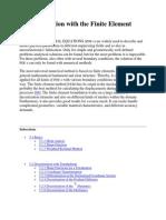 5. Discretization With the Finite Element Method