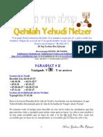 Parashat Vayigash # 11 Adul 6014