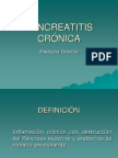 Pancreatitis crónica