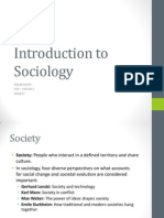Sociology Chapter 4