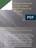 Structura așezărilor rurale in America de Sud